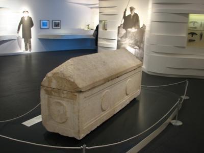 Саркофаг с останками Елены в Музее Израиля. Фото: Wikipedia